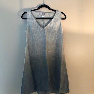 Flax Lagen Look 100% Linen sleeveless Top Size P